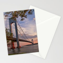 Verrazano Narrows Bridge Stationery Cards