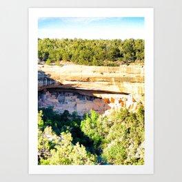Cliff Palace Study 1 Art Print