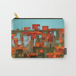Abstract city in color by lh Carry-All Pouch