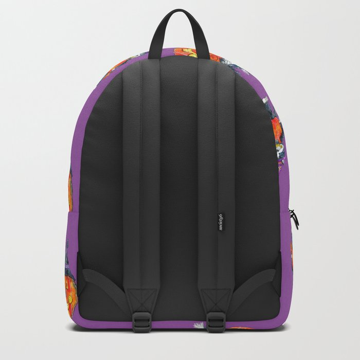 Black Cats and Jack-o-lanterns Backpack