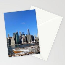 Manhattan Skyline Panorama Stationery Cards