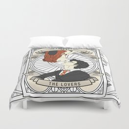 Harry / Potter: Tarot Duvet Cover
