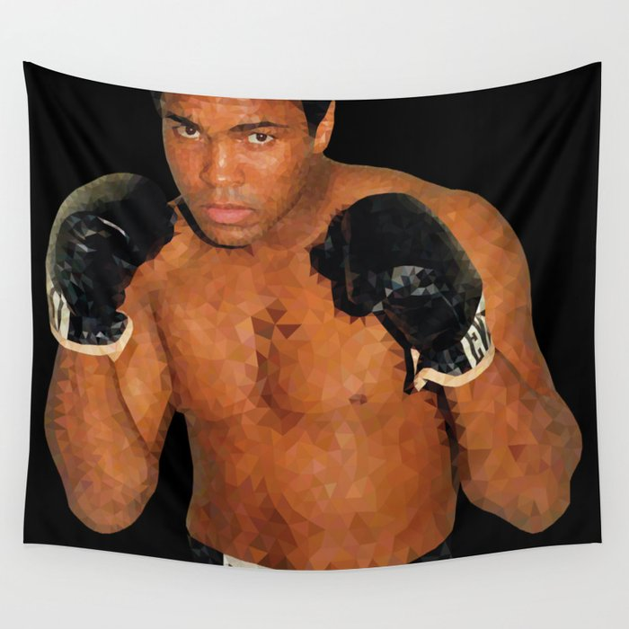 Historical Figures - Muhammad, Athlete Wall Tapestry