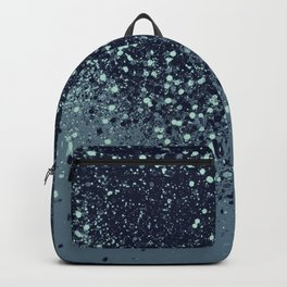 Sparkling Blue Summer Night Lady Glitter #3 #shiny #decor #art #society6 Backpack