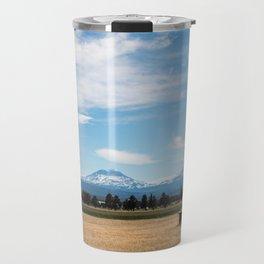 Ranch Truck outside of Sisters, Oregon Travel Mug