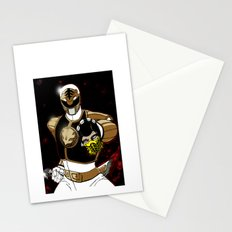 White Ranger Vs. Scorpion Stationery Cards