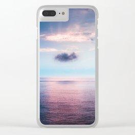 Dream cloud Clear iPhone Case