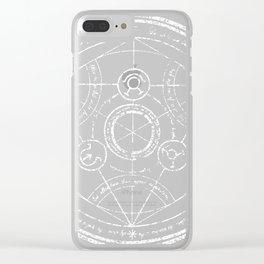 Transmutation Clear iPhone Case