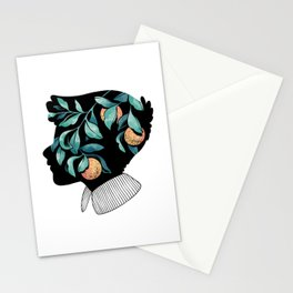 Orange Essence Stationery Cards