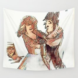 Los Caprichos ~ 5 ~ Two of a Kind Wall Tapestry