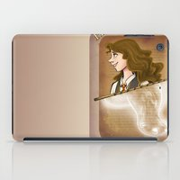 hermione iPad Cases featuring Hermione Granger by Imaginative Ink