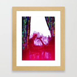 Luminous and Wired Framed Art Print
