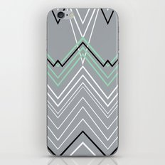 Mint Grey Chevy iPhone & iPod Skin