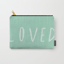 Loved x Mint Carry-All Pouch
