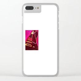 B B King Clear iPhone Case