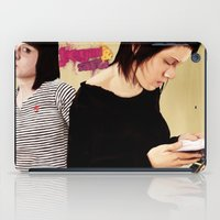 tegan and sara iPad Cases featuring Tegan and Sara by Mr. Frogo