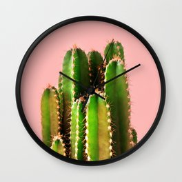 It's Cactus Time Wall Clock