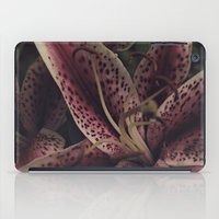 lily iPad Cases featuring lily by inourgardentoo
