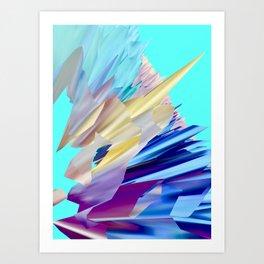 Saphir Art Print