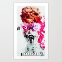dys·pha·sia Art Print