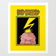 Sad Brains Art Print