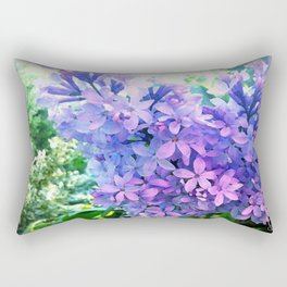 Lilacs in Bloom Rectangular Pillow