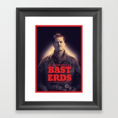 Inglourious Basterds Poster Framed Art Print