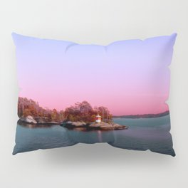 Sunset Over The Island Pillow Sham