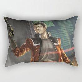 Agent Shan Rectangular Pillow