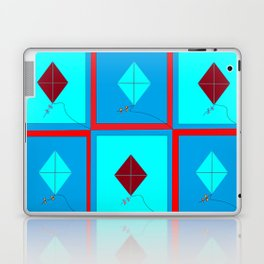 Grandma's Kites Quilt, My Version Laptop & iPad Skin