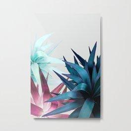 Tropical Leaves, Botanical Metal Print