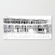 Musikhuset Esbjerg  Canvas Print