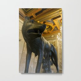 Capitoline Wolf, Rome Metal Print