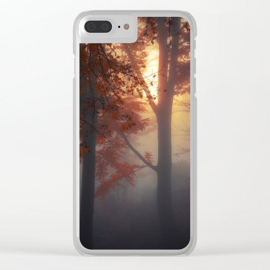 Fireball Clear iPhone Case