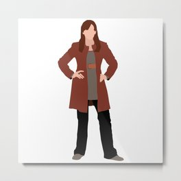 Donna Noble: The Woman Who Forgot Metal Print