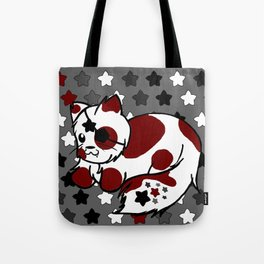 Strawberry Cream Stars - Night Variant Tote Bag