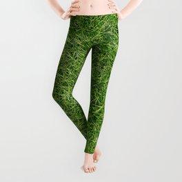Grass Textures Turf Leggings