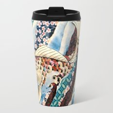 Playing Koi Travel Mug