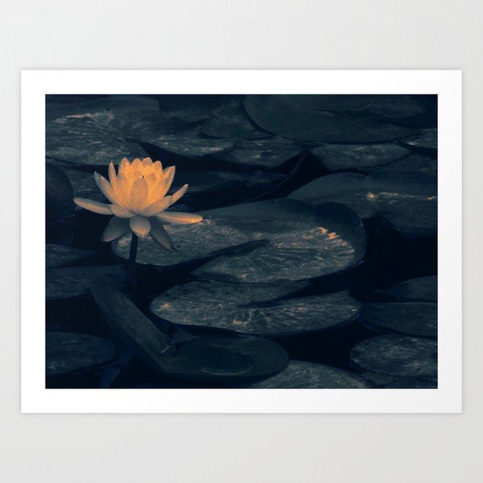 """Pondering At The Pond"" Art Print"