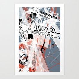 Gonzos Coded, Remixed. 2007_series03_shot02 Art Print