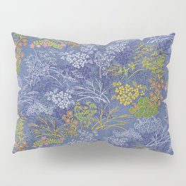 Vintage Japanese floral pattern Pillow Sham