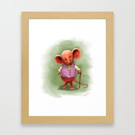 Wealthy Mouse Framed Art Print