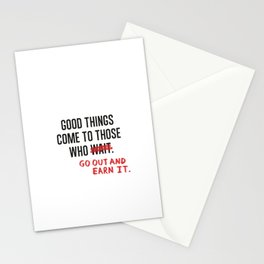 Good Things (Clean version) Stationery Cards