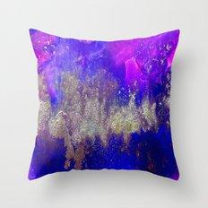 Galaxy Skyline Throw Pillow