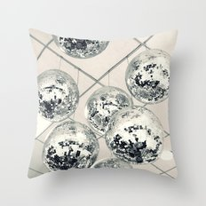 Disco Ball Throw Pillow