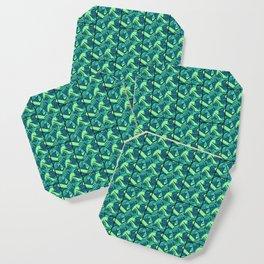Sea Green Tiles Coaster