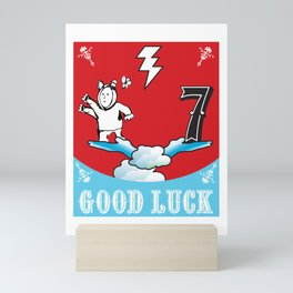 Good Luck Magic Seven Mini Art Print