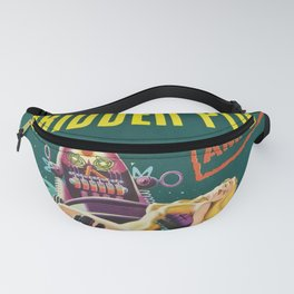 Vintage Forbidden Planet featuring Robby the Robot Theatrical film advertisement poster  Fanny Pack