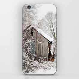 The Wooden Shed iPhone Skin