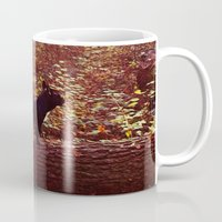 frenchie Mugs featuring Frenchie by Krizan
